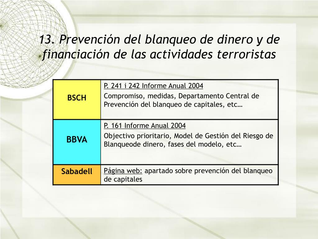 13. Prevenci