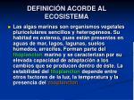 definici n acorde al ecosistema