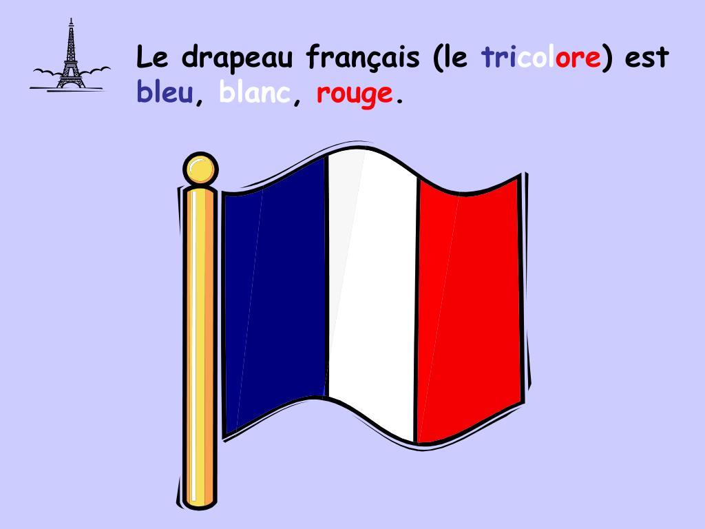 Le drapeau français (le