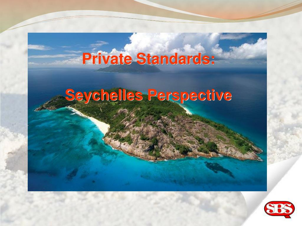 Private Standards: