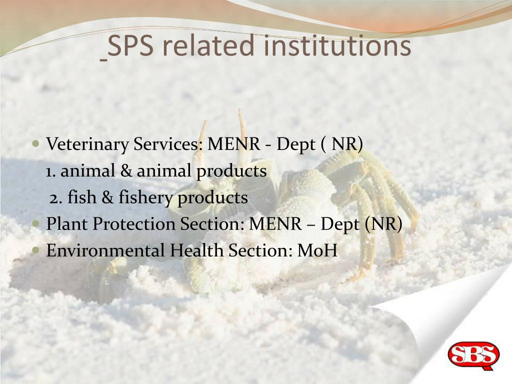 SPS related institutions