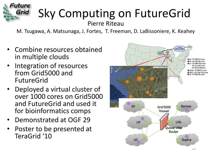 Sky Computing on