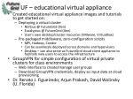 uf educational virtual appliance