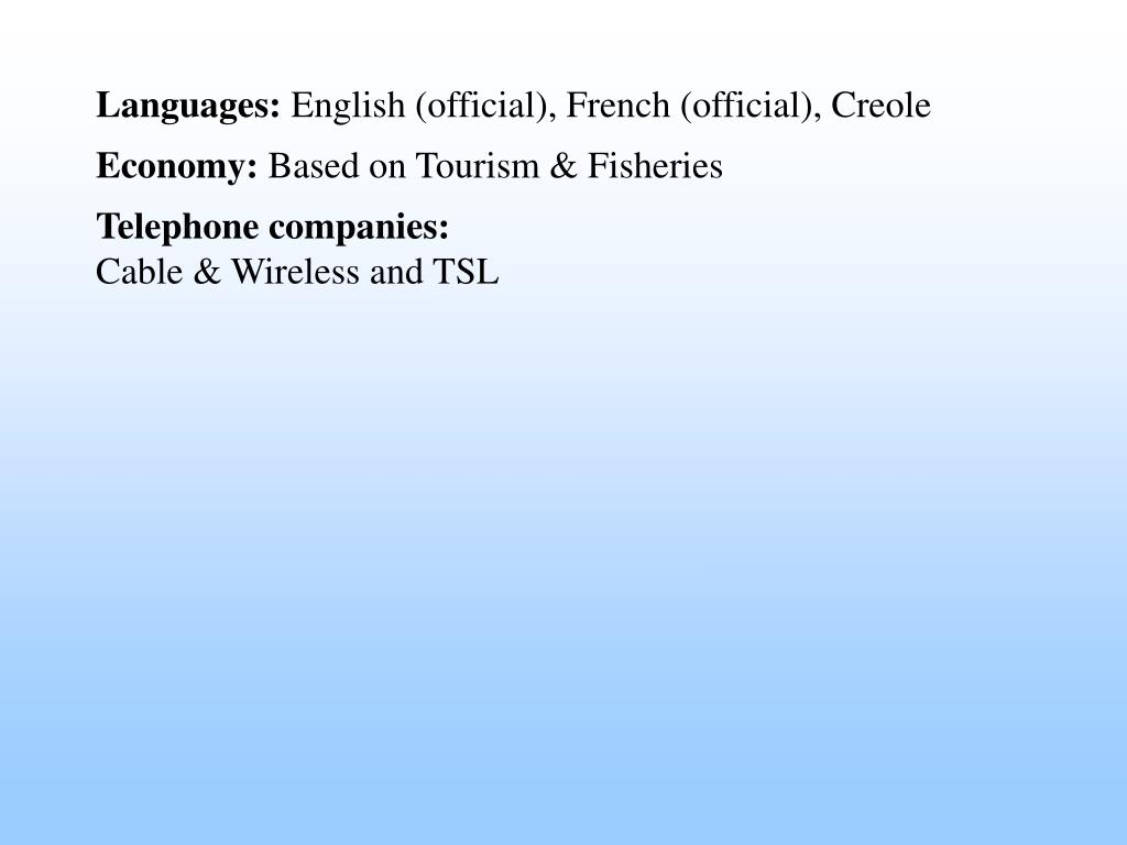 Languages: