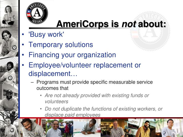 AmeriCorps is