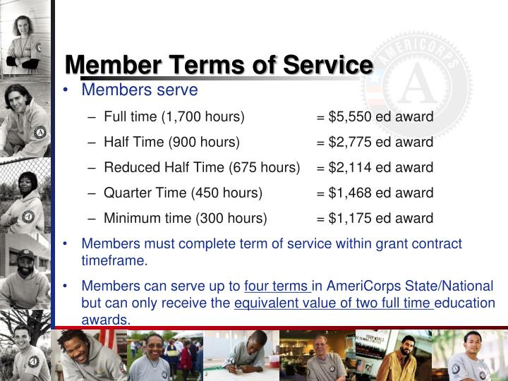 Member Terms of Service