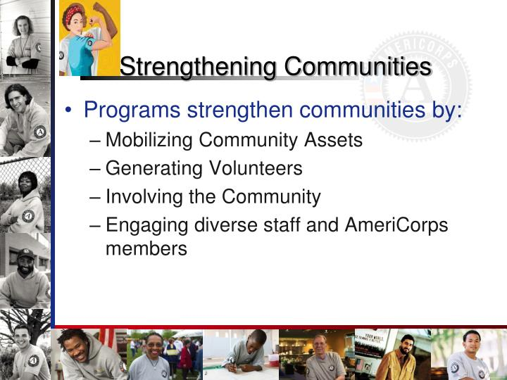 Strengthening Communities