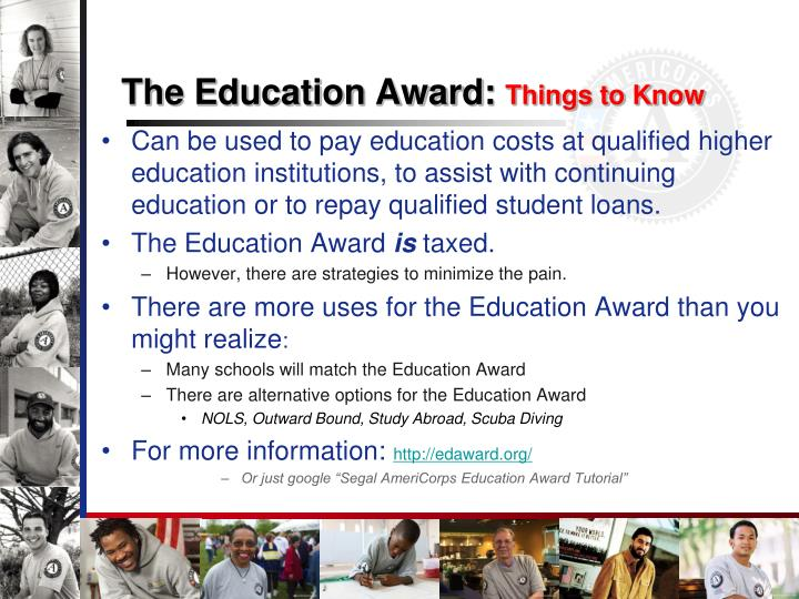 The Education Award:
