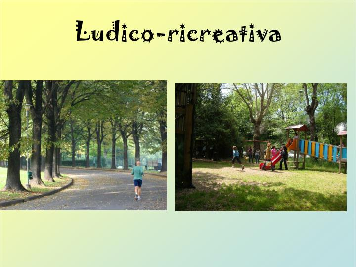 Ludico-ricreativa