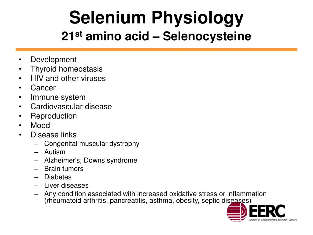 Selenium Physiology