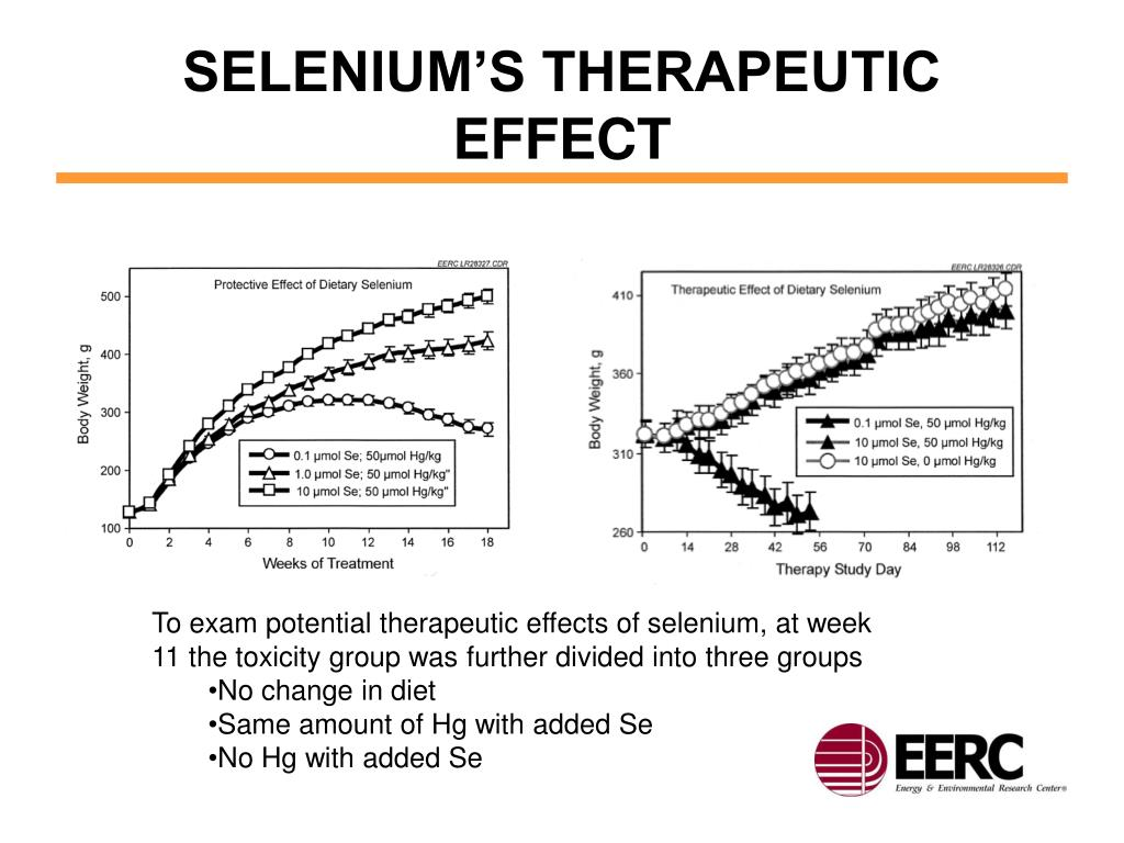 SELENIUM'S THERAPEUTIC EFFECT