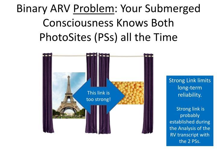 Binary ARV