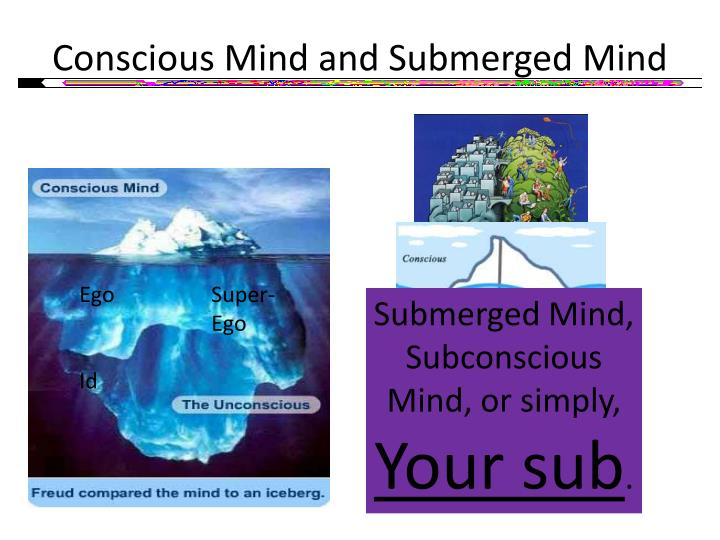 Conscious Mind and Submerged Mind