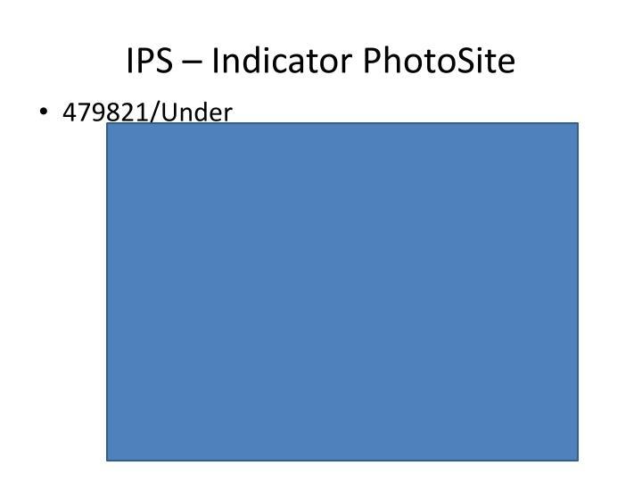 IPS – Indicator PhotoSite