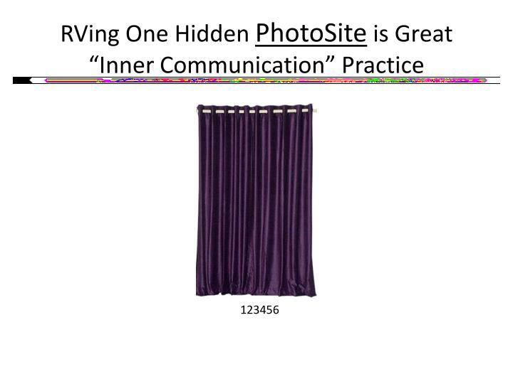 RVing One Hidden