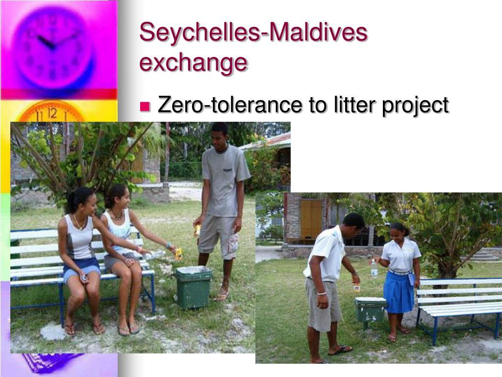 Seychelles-Maldives exchange