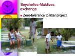 seychelles maldives exchange