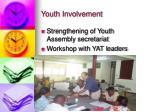 youth involvement