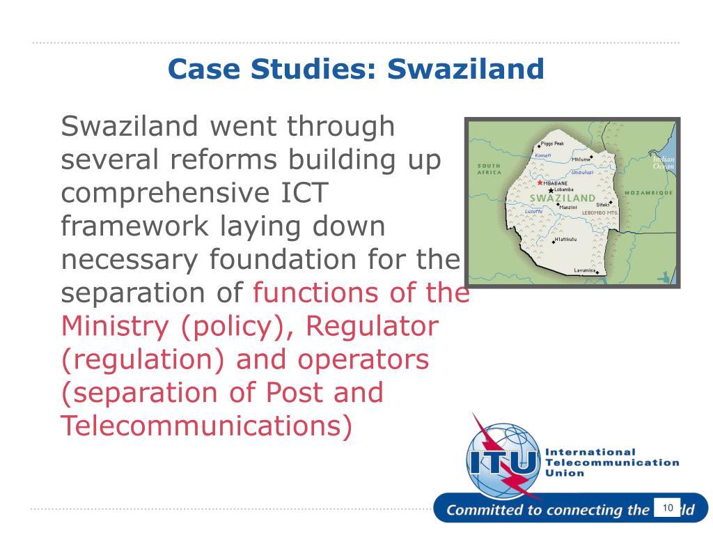 Case Studies: Swaziland