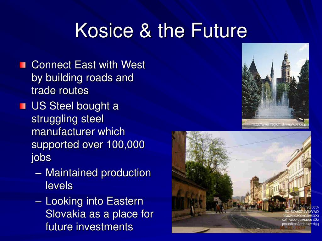 Kosice & the Future