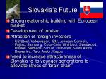 slovakia s future27