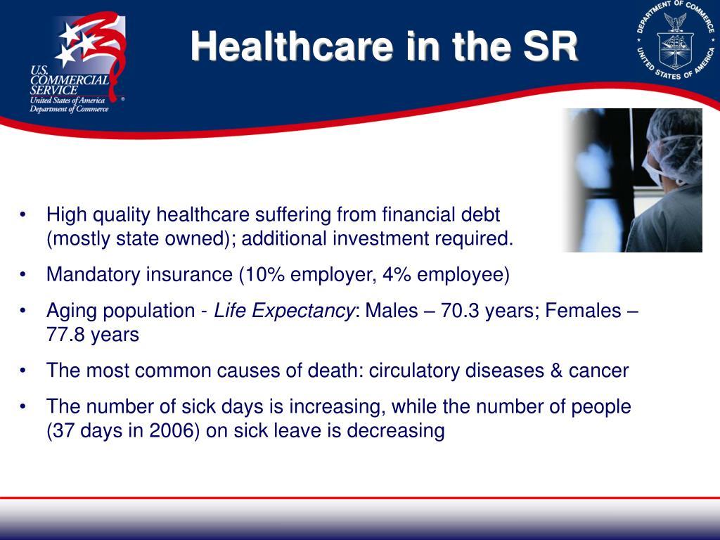 Healthcare in the SR