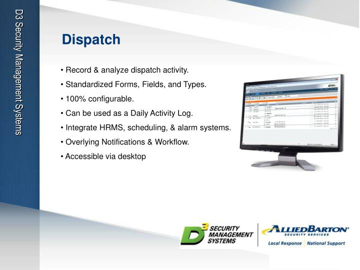 D3 Security Management Systems