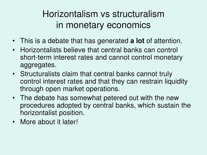 Horizontalism vs structuralism