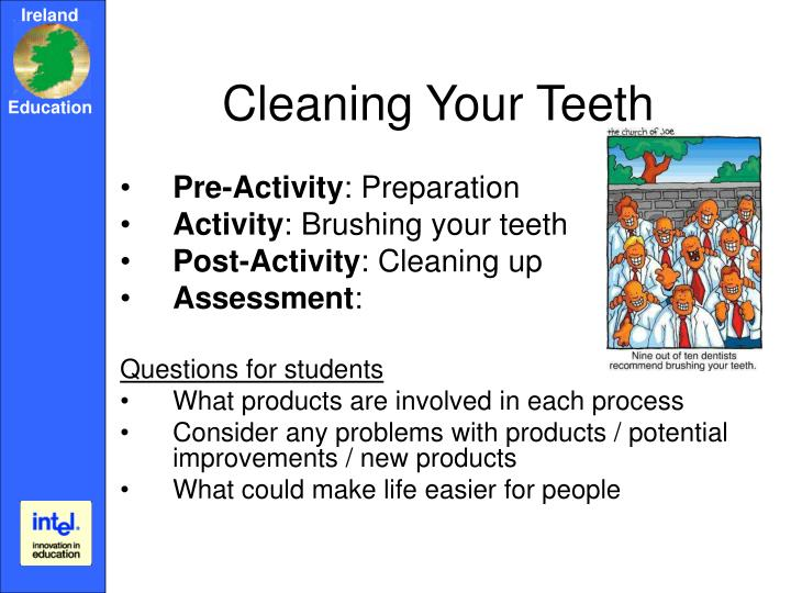 Cleaning Your Teeth