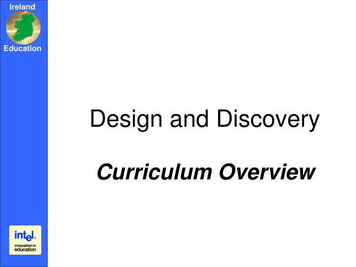 Design and Discovery