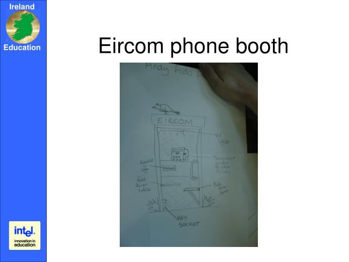 Eircom phone booth