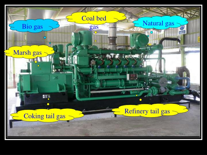 Coal bed gas