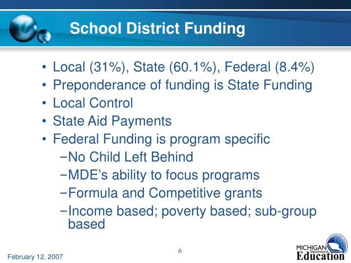 School District Funding