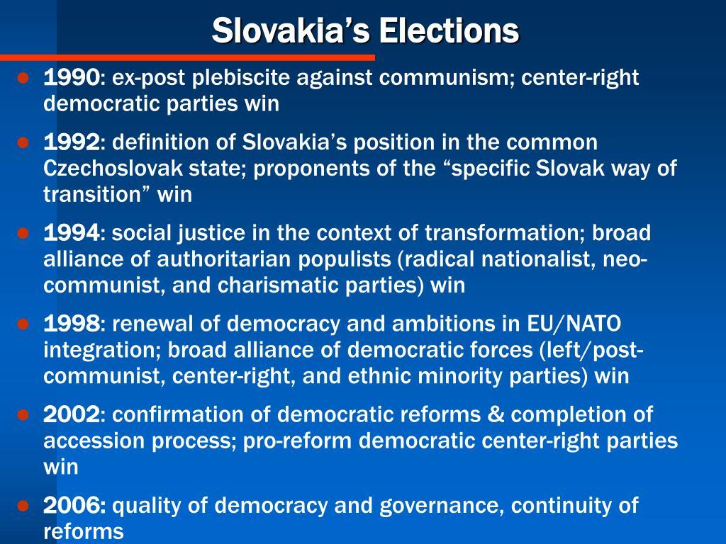Slovakia's Elections