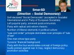 smer sd direction social democracy
