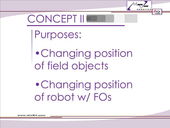 CONCEPT II