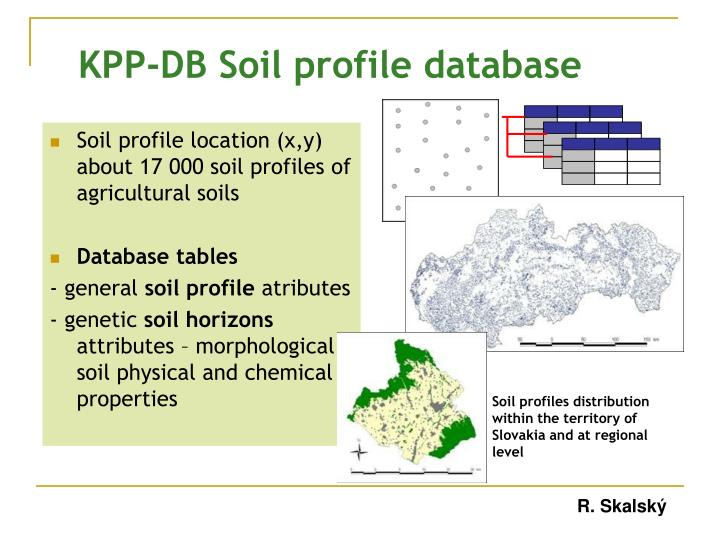 Kpp db soil profile database