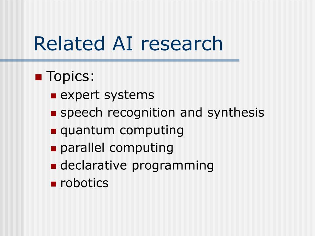 Related AI research