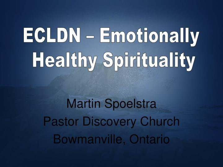 Martin spoelstra pastor discovery church bowmanville ontario