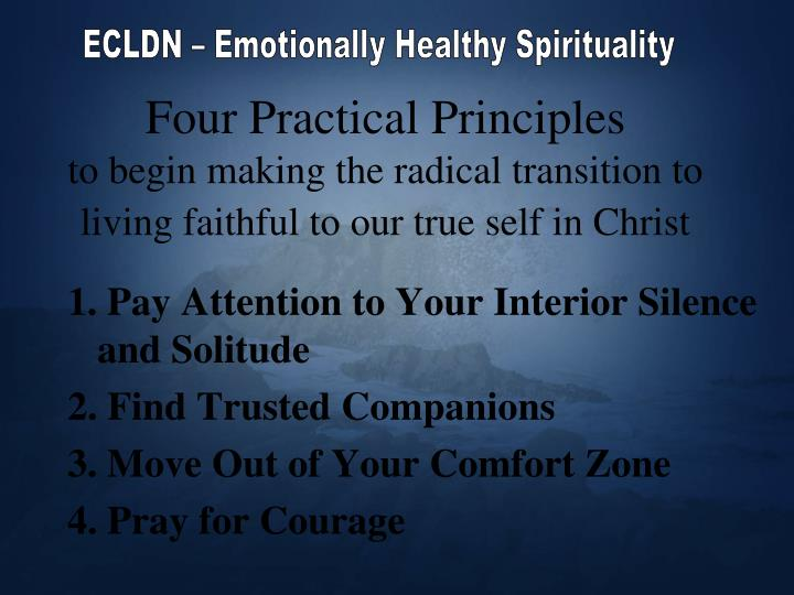 Four Practical Principles