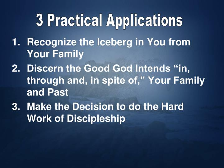 3 Practical Applications