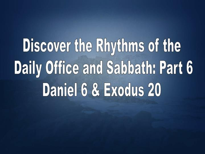 Discover the Rhythms of the