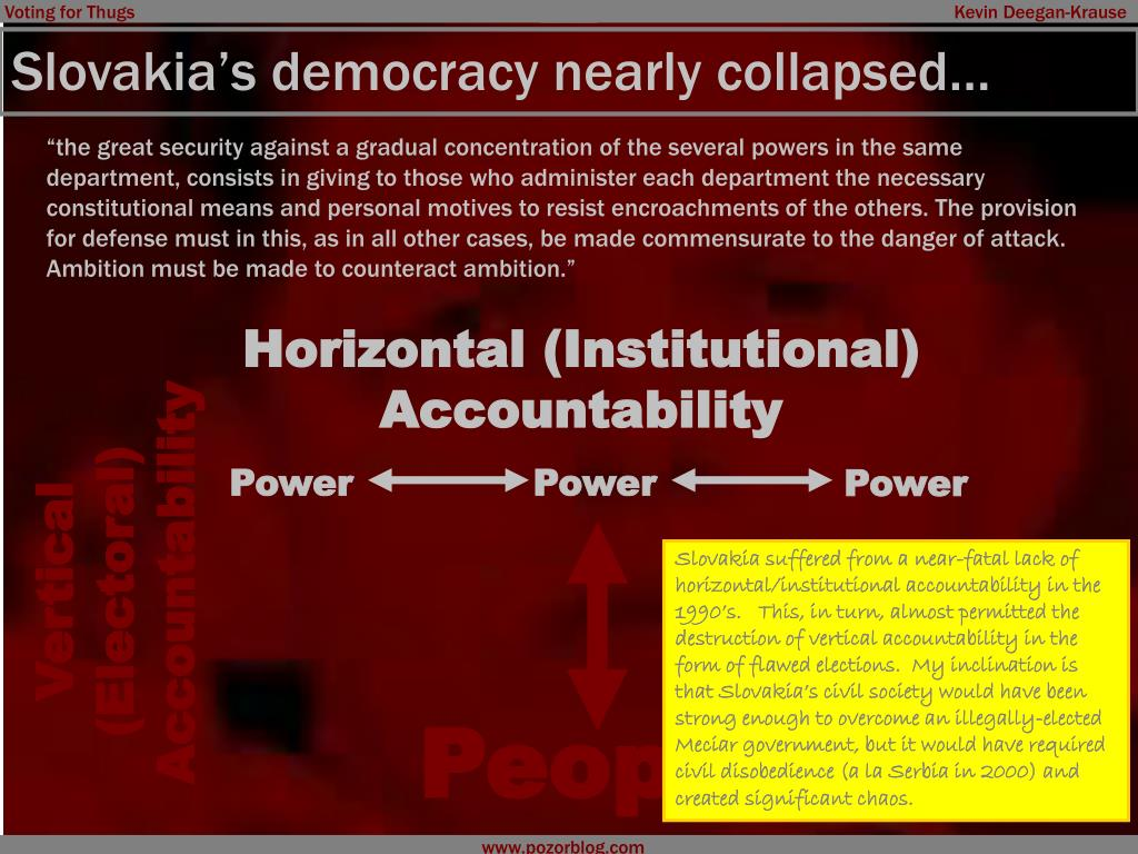 Slovakia's democracy nearly collapsed…