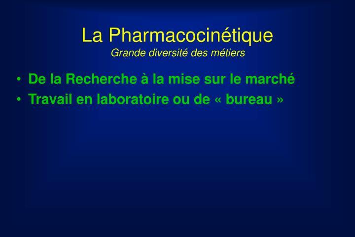 La Pharmacocinétique