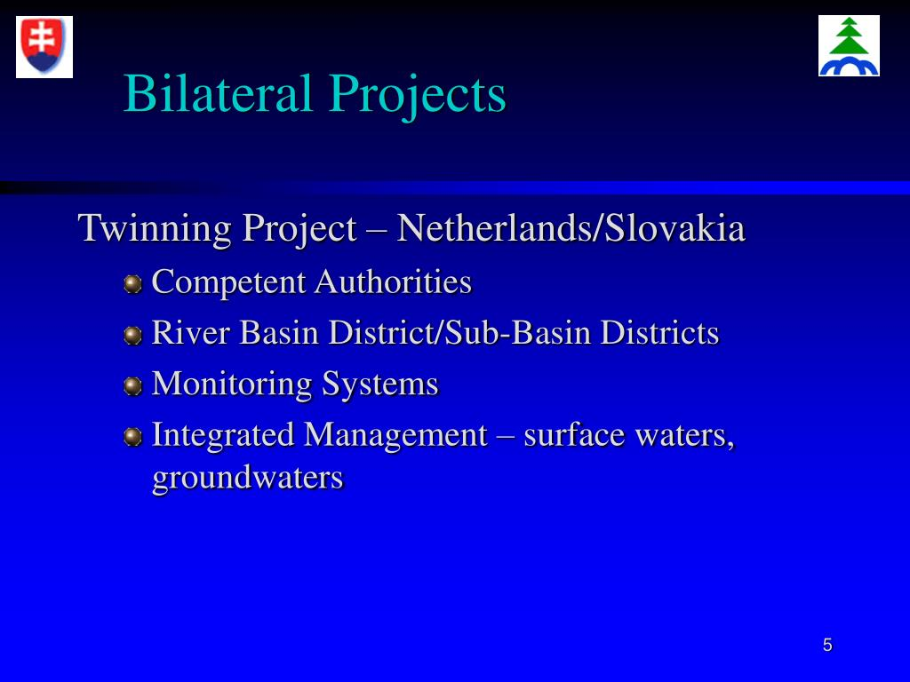 Bilateral Projects