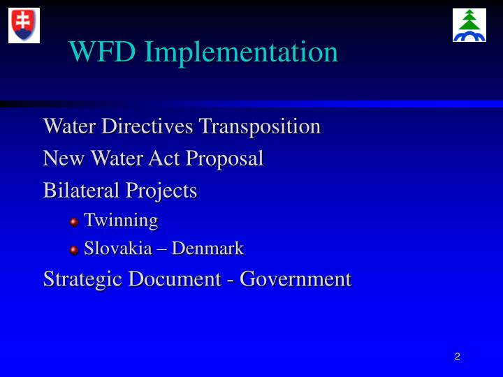 Wfd implementation l.jpg