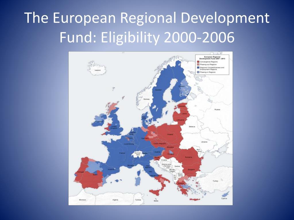 The European Regional Development Fund: Eligibility 2000-2006