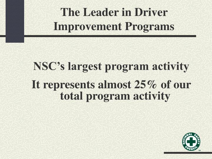 The Leader in Driver Improvement Programs