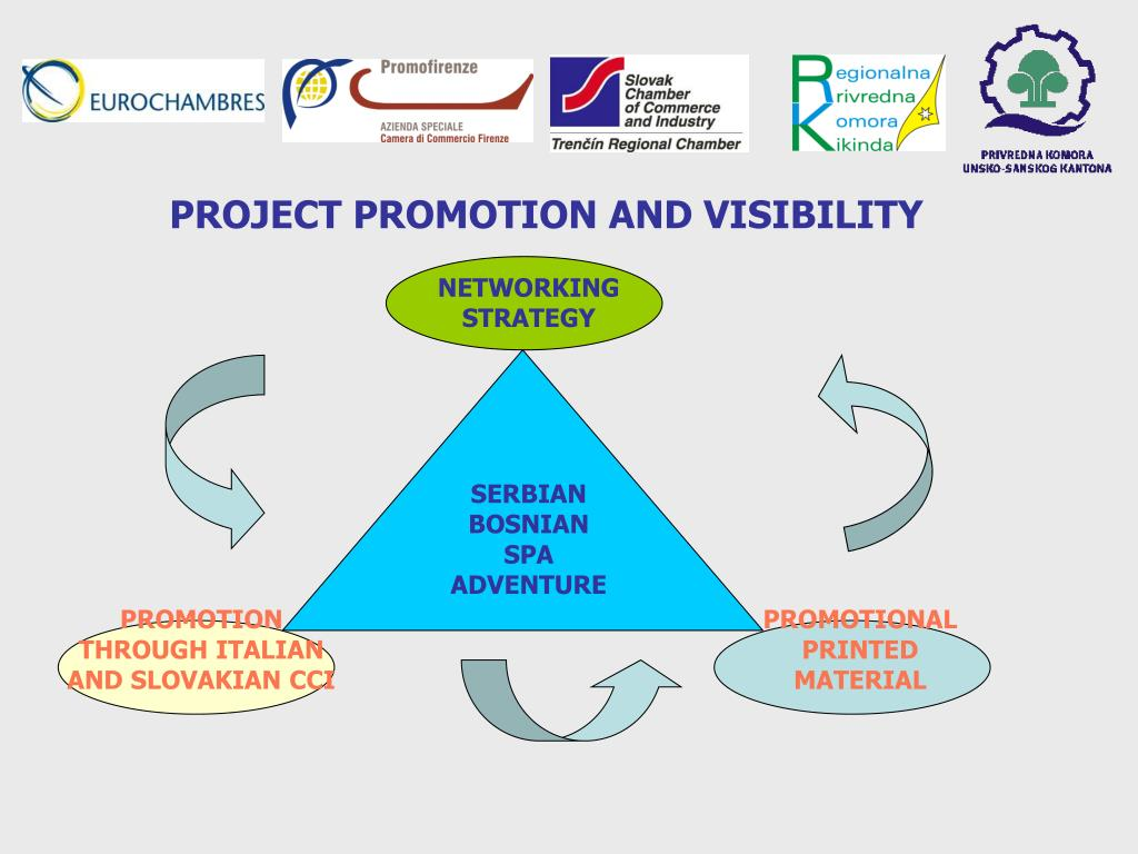 PROJECT PROMOTION AND VISIBILITY