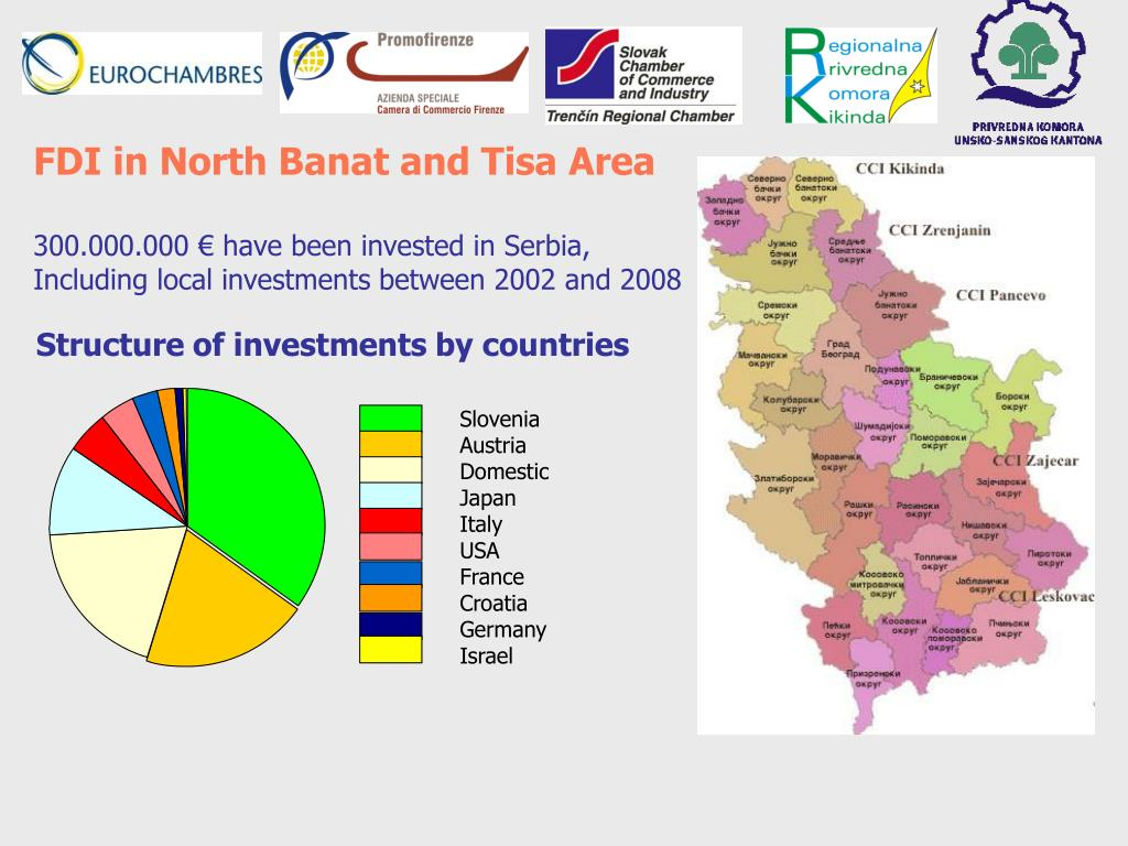 FDI in North Banat and Tisa Area